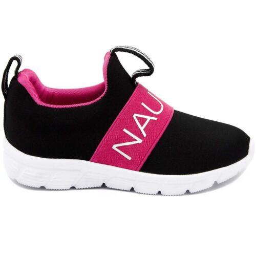 Nautica Kids Girls Fashion Sneaker Slip On Running Shoe