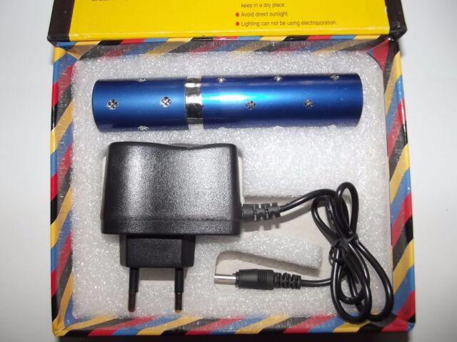 Electro Shocker Lipstick Self-defense Electric Shock LED Flashlight Woman