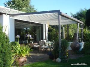 Bevorzugt Falt-Sonnensegel 420 x 140 cm Sonnenschutz für Balkon, Terrasse PW34