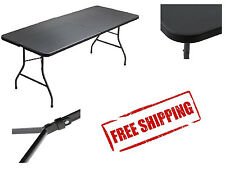 Portable Folding Table 6' FT Picnic Camping Banquet Party Table Metal Frame NEW