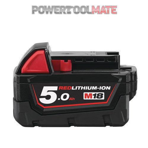 Milwaukee M18B5 18v 5.0Ah Li-ion Battery - Genuine