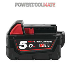 Milwaukee M18B5 18v 5.0Ah Li-ion Battery - Genuine Uk Stock