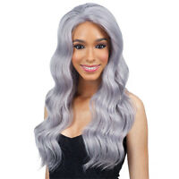 Shake-n-go Freetress Equal Synthetic Straight Hair Lace Front Wig - Chrome