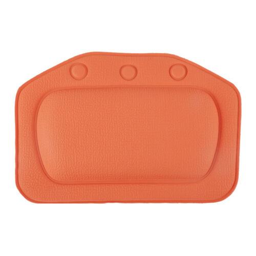 1X Bathroom Spa Bath Pillow Soft Foam Padded Bath Head Neck Back Cushion Protect