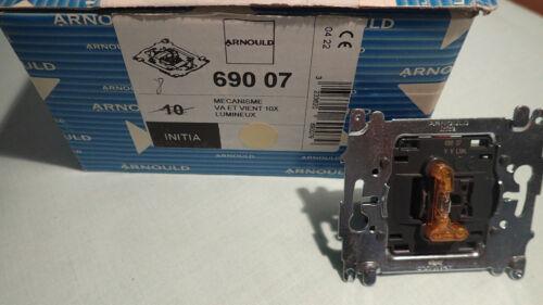 A L/'UNITE Interrupteur Lumineux Voyant Intégré 69007 Arnould INITIA