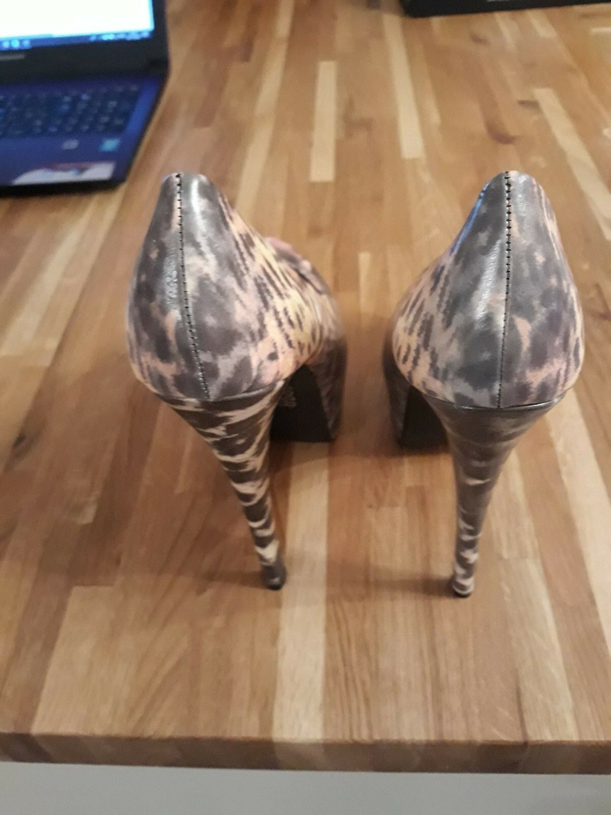 IRON FIST PUSSY FOOT LEOPARD LADIES HEELS HEELS HEELS – MULTI COLOURED – SIZE 4 – BNIB 325a33