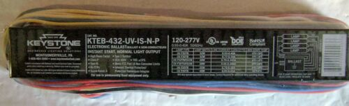 KTEB-432-UV-IS-NP Fluorescent Ballast 4B T8 Replaces Accupro AP-432IP-UNV-M