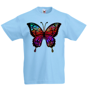 Butterfly Kid/'s T-Shirt Children Boys Girls Unisex Top