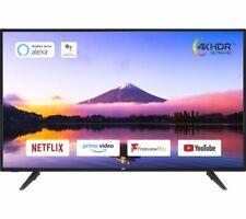 "JVC LT-50C800 50"" Smart 4K Ultra HD HDR LED TV - Black - Currys"