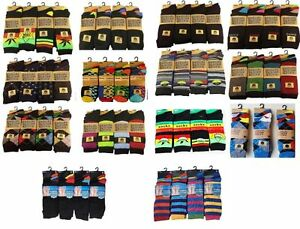 12-Paires-Homme-Design-Chaussettes-Coton-Majoritaire-Lycra-Modele-Taille-6-11