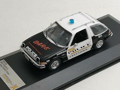 Amc Pacer X Polizia Usa 1975 Premium X 1:43 Prd126 Model