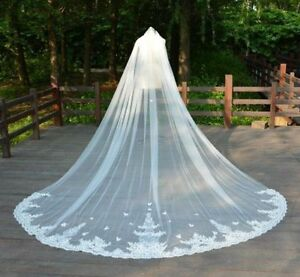 Image Is Loading New Handmade 3m 4m 5m Cathedral Long Bridal