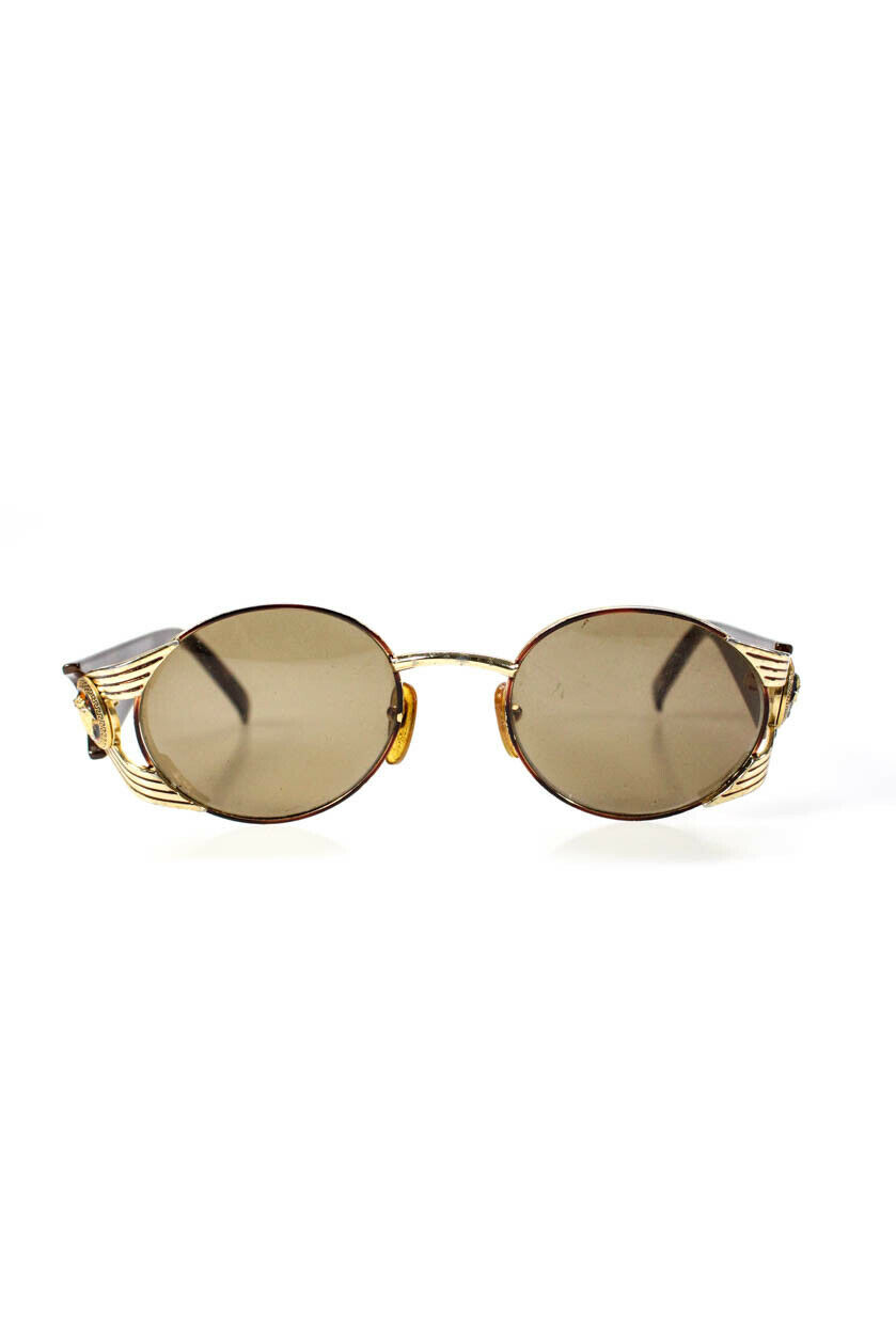 Gianni Versace Womens Vintage Tinted Round Lens S… - image 1