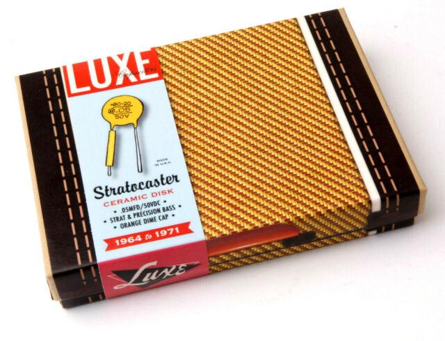 Luxe 51//52/' Broad-//Nocaster Cornell-Dubilier cap for Fender Guitars