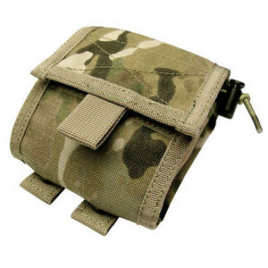 CONDOR-MOLLE-Mod-Nylon-Roll-Up-Utility-Pouch-ma36-008-Genuine-CRYE-Multicam-Camo