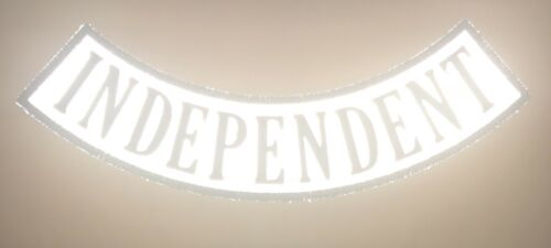 Made In The USA! *REFLECTIVE* Independent Bottom Rocker Patch