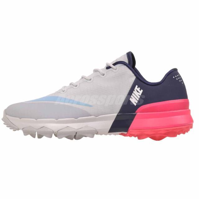 ddee790a5aff Womens Nike Fi Flex Golf Shoes 849973-001 Sz 7.5 Pure Platinum for ...