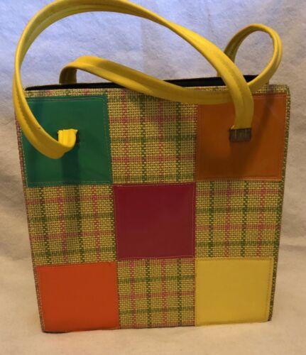 Market Bag Bento Bag Leather Rare Tropical Vintage Barkcloth Zero Waste Bag Shopping Bag Eco Friendly Bag Reusable Grocery Bag