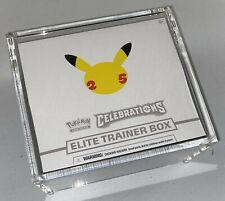 Pokemon ELITE Trainer Box MAGNETIC Protective ETB Case - Clear Acrylic CH