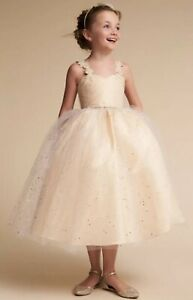 706b8963366 NEW  200 BHLDN Amalee Cindy Dress Size 10 Wedding Flower Girl