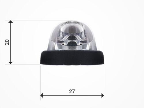 1x LED Rückleuchte 12V 24V Schlusslicht Bremslicht Blinker LKW PKW Anhänger