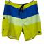 "thumbnail 1 - Tavik Men's Casual Multicolor Color Block Surf Board Surf Shorts Size 33"""