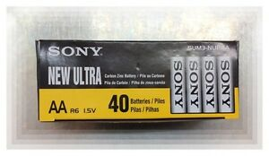 Sony-New-Ultra-AA-Batteries-1box-40pcs