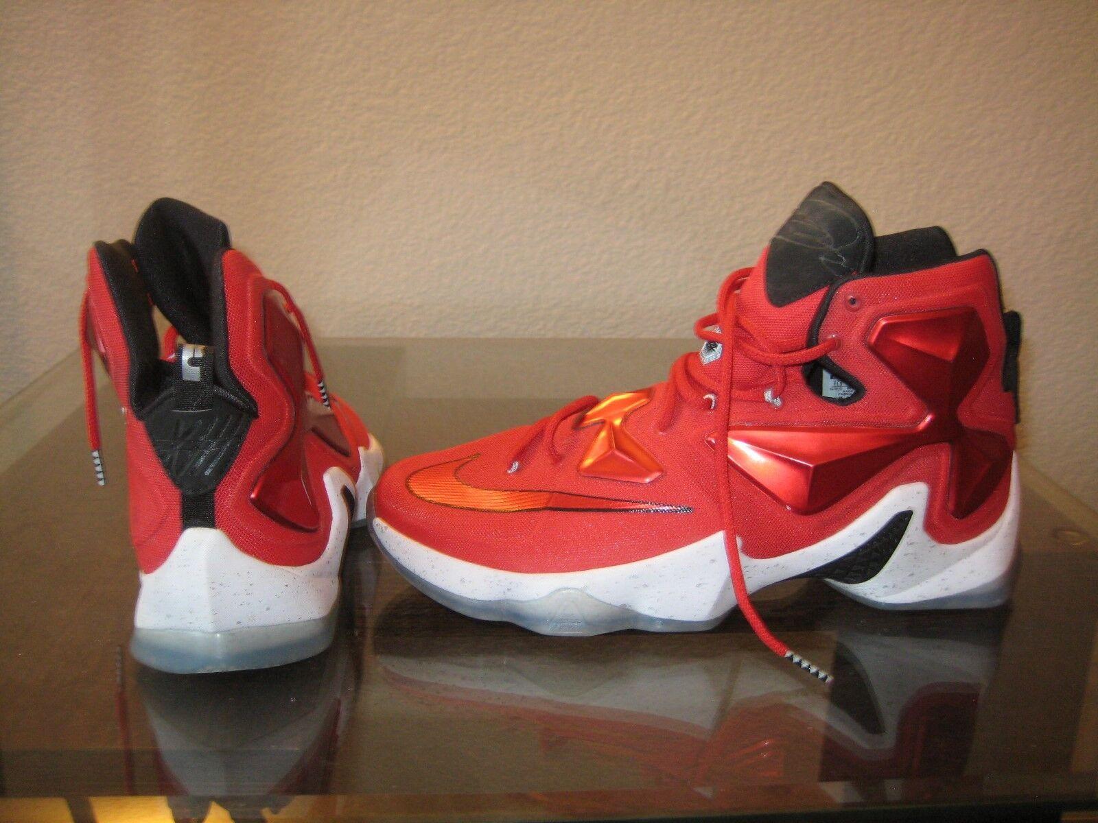 IRON MAN Nike LeBron XIII 'On Court