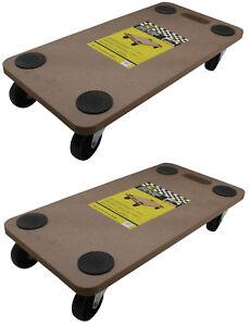 das bild wird geladen moebelroller rollbrett transportroller mdf 200 kg moebel roller