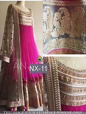 Anarkali Salwar Kameez Designer Suit New Long Ethnic Women Partywear Dress NX-11