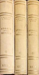 STORIA-DELLA-MUSICA-A-DELLA-CORTE-G-PANNAIN-UTET-1952-3-VOLL