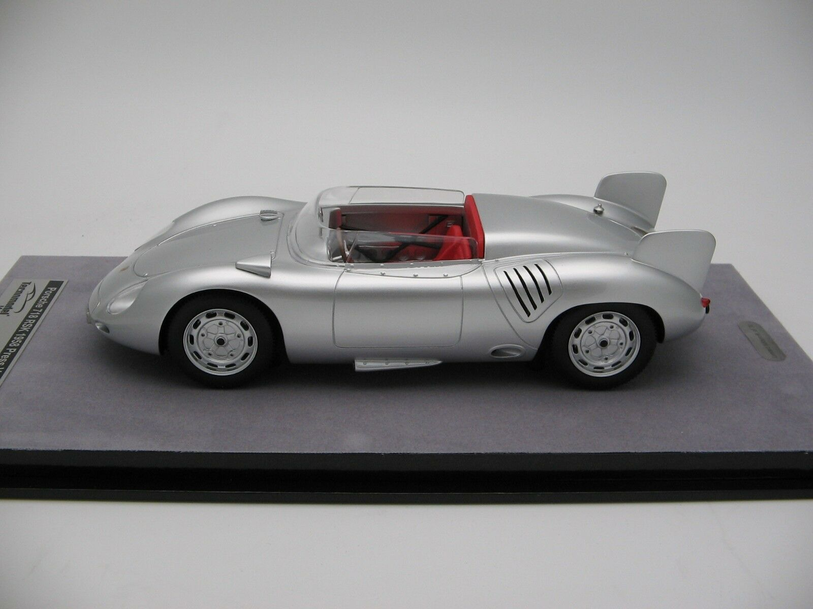 1//18 Scale Tecnomodel Porsche 718 Rsk Press Version 1958 TM18-82E