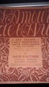 L-039-amour-de-l-039-art-Louis-Vauxcelles-n-10-1921-le-salon-d-automne
