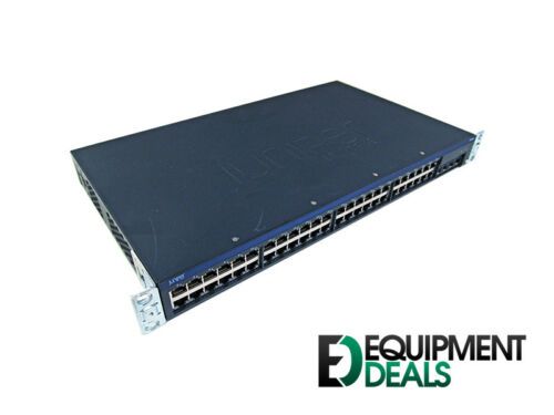 Juniper Networks EX2200-48T 48-port 10//100//1000BASE-T Ethernet Switch with four