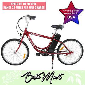 Yukon-2018-Single-Speed-Electric-Bike-Bicycle-Lead-Acid-Battery-Powered-Male