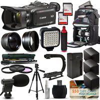 Canon Xa30 Hd Professional Video Camcorder + Extreme Accessory Bunble Kit