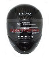Nex Full Face Motorcycle Helmet Real Carbon Fiber Dot Approved Medium Grey on sale