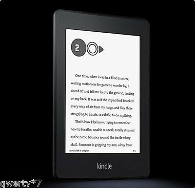 Amazon Kindle Paperwhite 2014 eReader BUNDLED SET w Cover and Screen Protector!