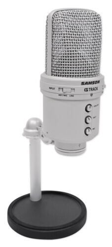 Samson G-Track Recording Audio Interface USB Condenser Studio Microphone Mic
