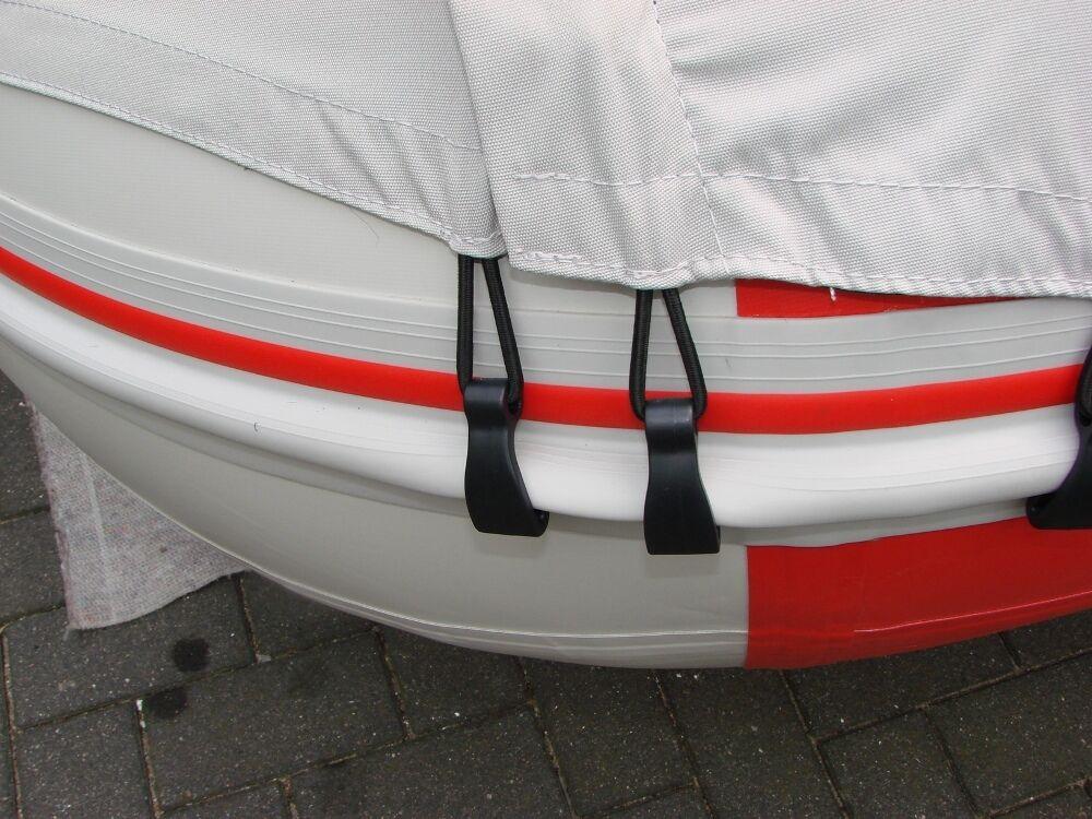 VSchlauchStiefelzelt für oder SchlauchStiefele 3,80m/3,90m oder für auch feste Stiefele Grau 825a2c