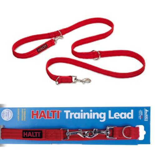 HALTI TRAINING LEAD Dog Puppy Double Ended Multi Function Obedience Walking