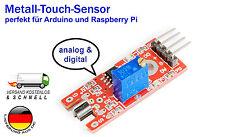 Metall Touch Sensor KY036 für Arduino Raspberry DIY Mikrocontroller mit Beispiel