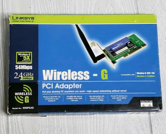 LINKSYS WMP54G PCI ADAPTER WIRELESS DRIVER DOWNLOAD