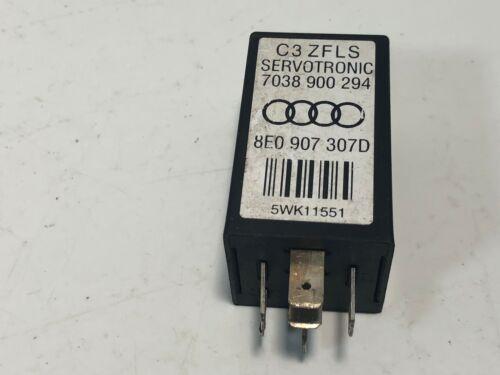 Audi A4 S4 Servotronic Relay Control Unit P 8E0 907 307D OEM Warranty 60 Days!