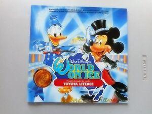 Walt-Disney-039-s-World-on-Ice-Program-w-Showband-Page-1987-Brisbane-Skating-Mickey
