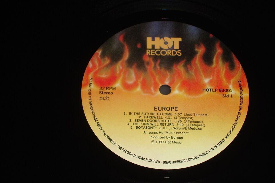 LP, Europe ( Deres 1ste LP ), Europe