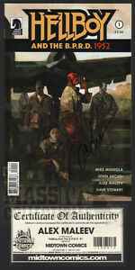 Hellboy-and-the-B-P-R-D-1952-1-SIGNED-by-ALEX-MALEEV-first-print-NM-unread-COA