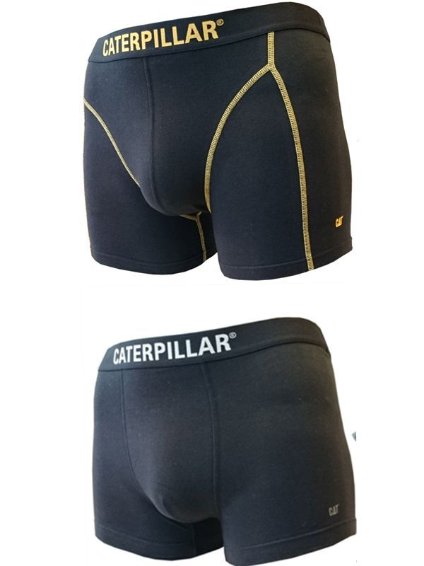 CAT Caterpillar 4 6 8 Boxer Short black - Kombi-Angebot Boxer Short+Boxer Long