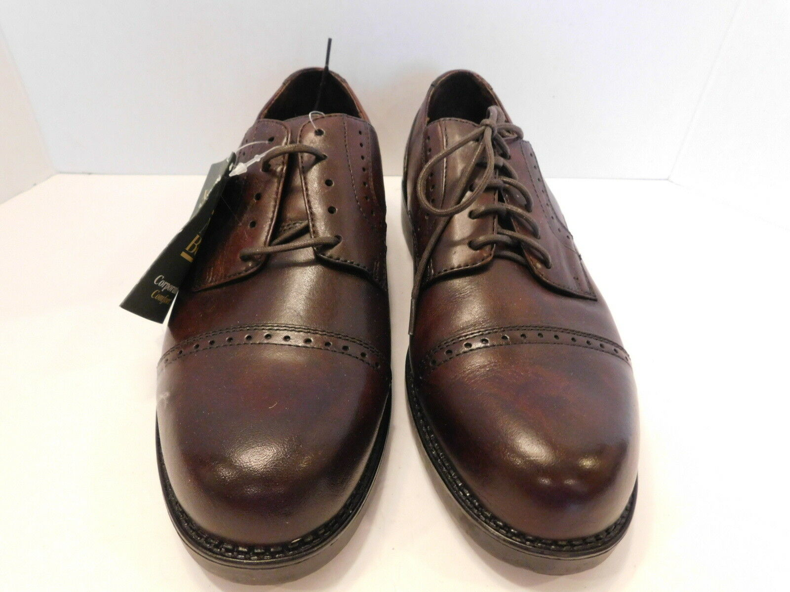 NEW NUNN BUSH MENS SHOES BROWN CORPORATE CASUAL OXFORD SHOES MENS SIZE 10 D a9bfcf