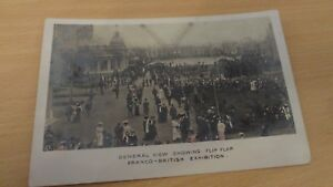 1908-FRANCO-BRITISH-EXHIBITION-PHOTO-POSTCARD-UNUSED